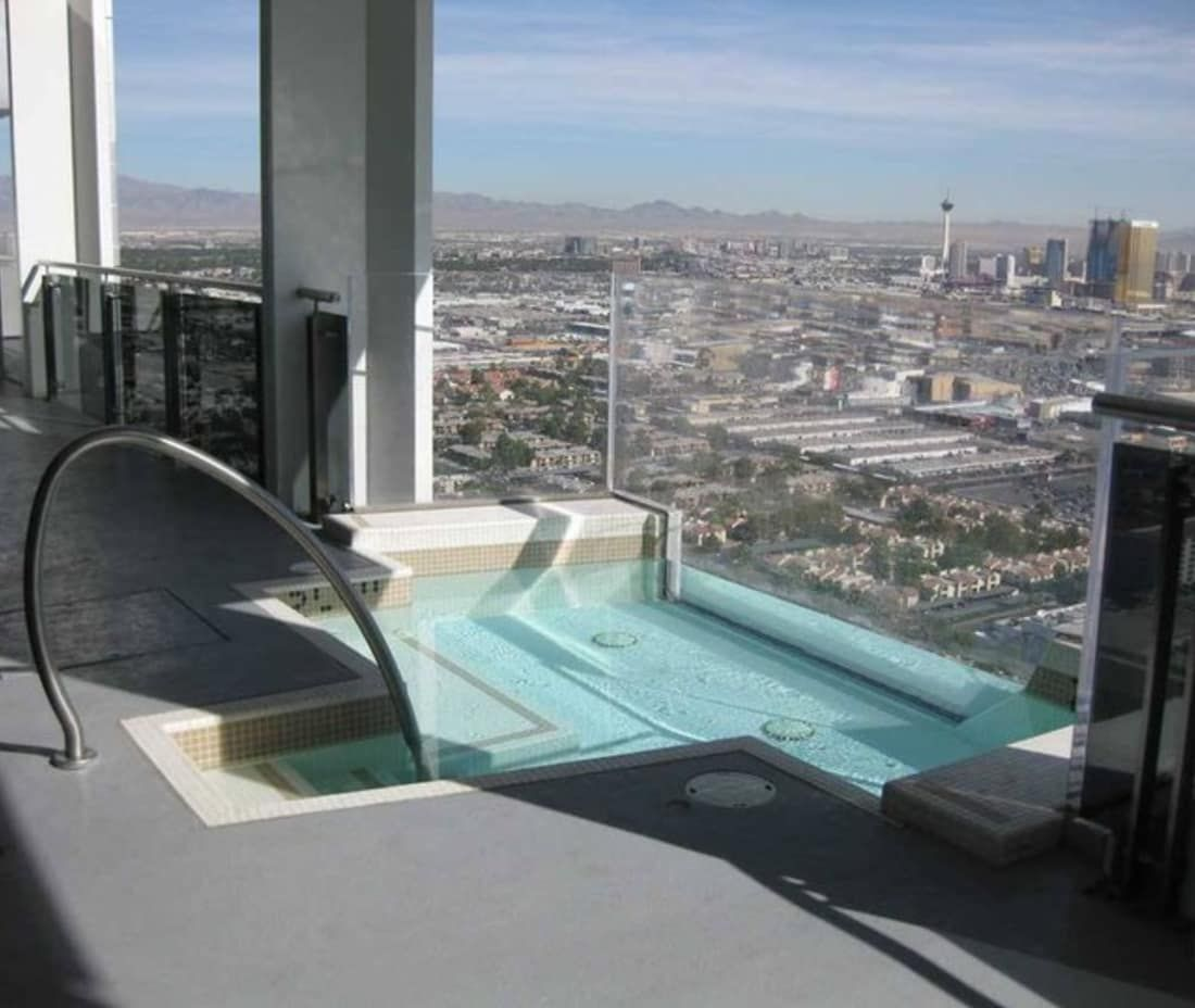 The 30 Coolest Hot Tubs Luxury Swimming Pools Hotel Pool Swimming Pool Designs