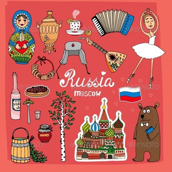 Symbols And Icons Of Russia Pinterest Russia Symbols And Icons