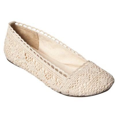 Pin By Mari Buchanan On Target Wedding Shoes Crochet Flats