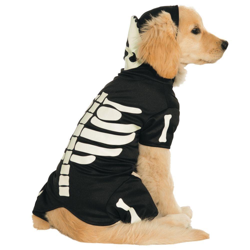 Glow-In-The-Dark Skeleton Dog Costume - Extra Large  sc 1 st  Pinterest & Glow-In-The-Dark Skeleton Extra Large Dog Costume | Large dog ...
