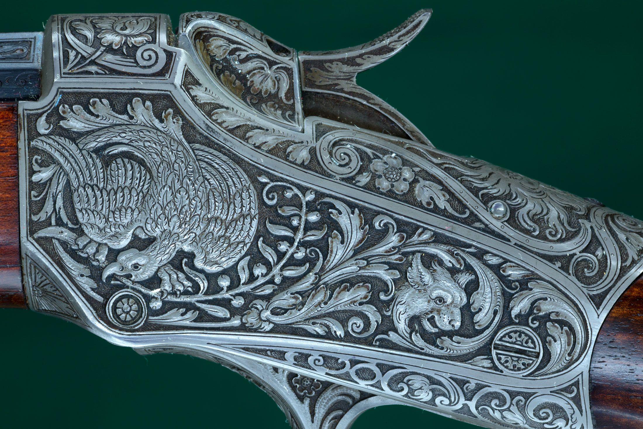 J P Sauer Custom Winchester 1885 Low
