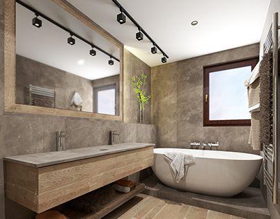 Simplebathroom Wood Microcret Sand Grey Simple Bathroom