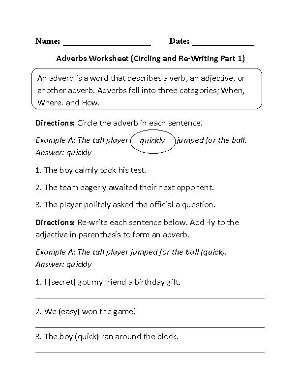 Circling and re writing adverbs worksheet english in 2018 circling and re writing adverbs worksheet ibookread ePUb