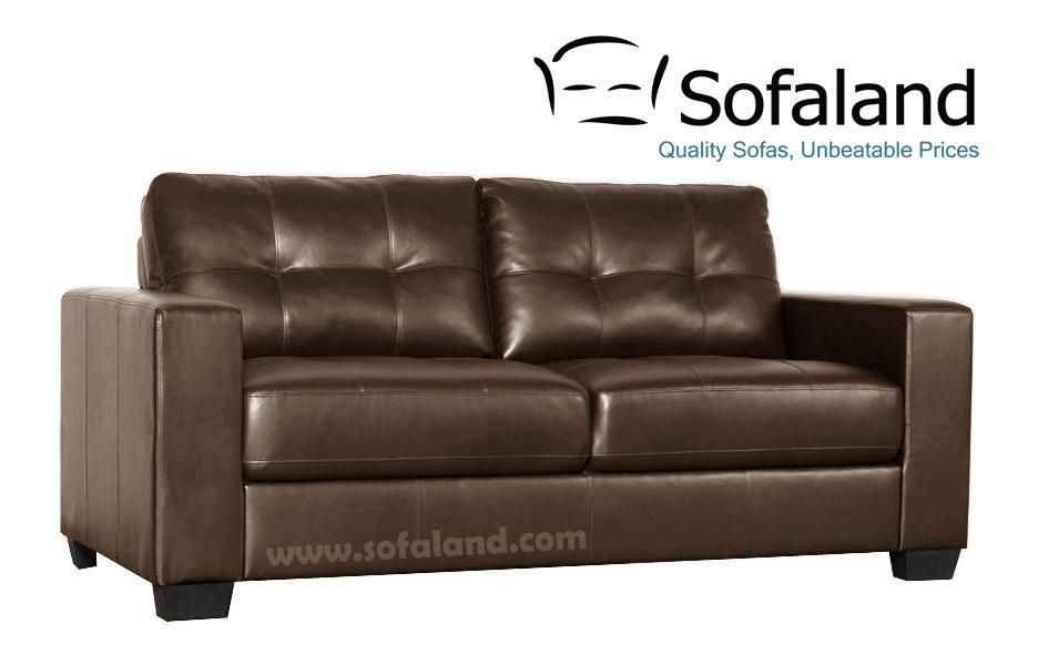 Pleasing For 159 Garda 2 Seater Brown Bonded Leather Sofa Settee Pdpeps Interior Chair Design Pdpepsorg