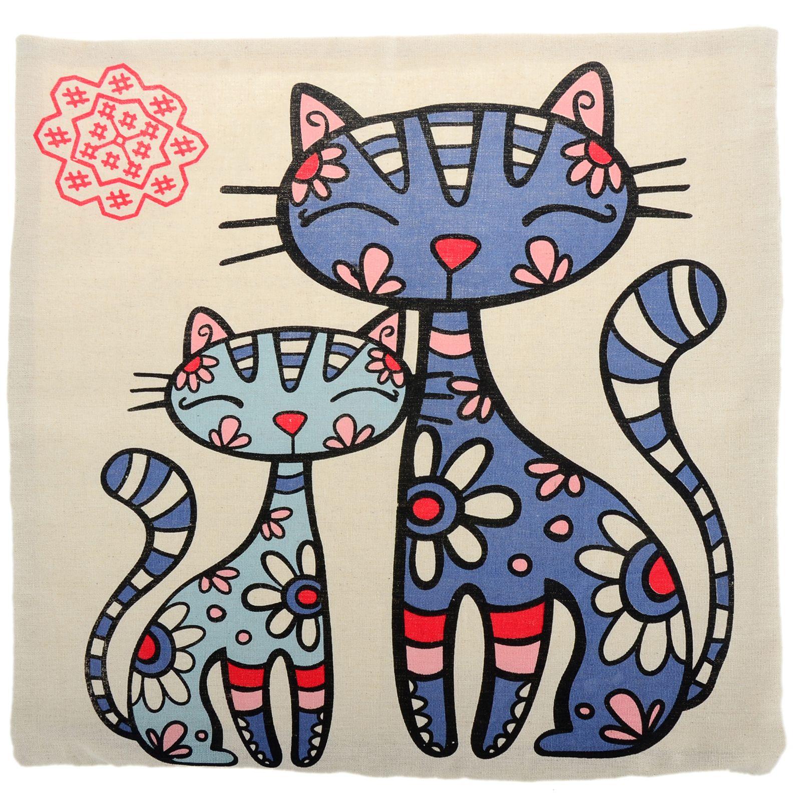 коты с узорами картинки добродетели