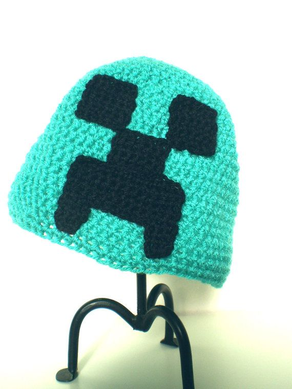 minecraft creeper hat! If we ever have a boy. | Geeks rule! | Pinterest