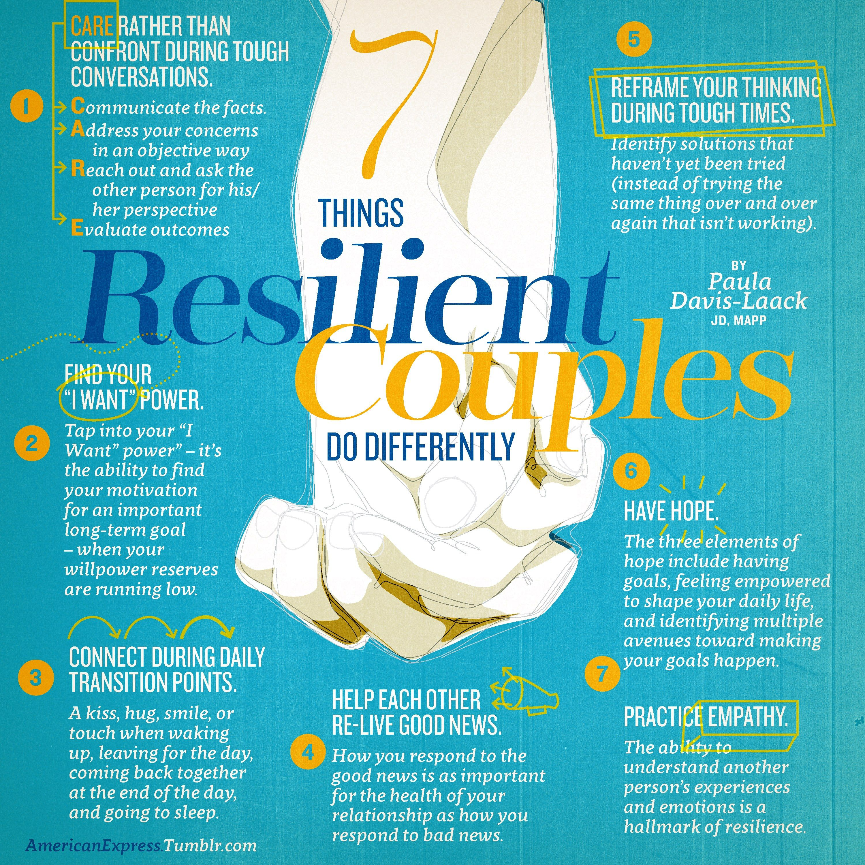 7 Things Resilient Couples Do Differently