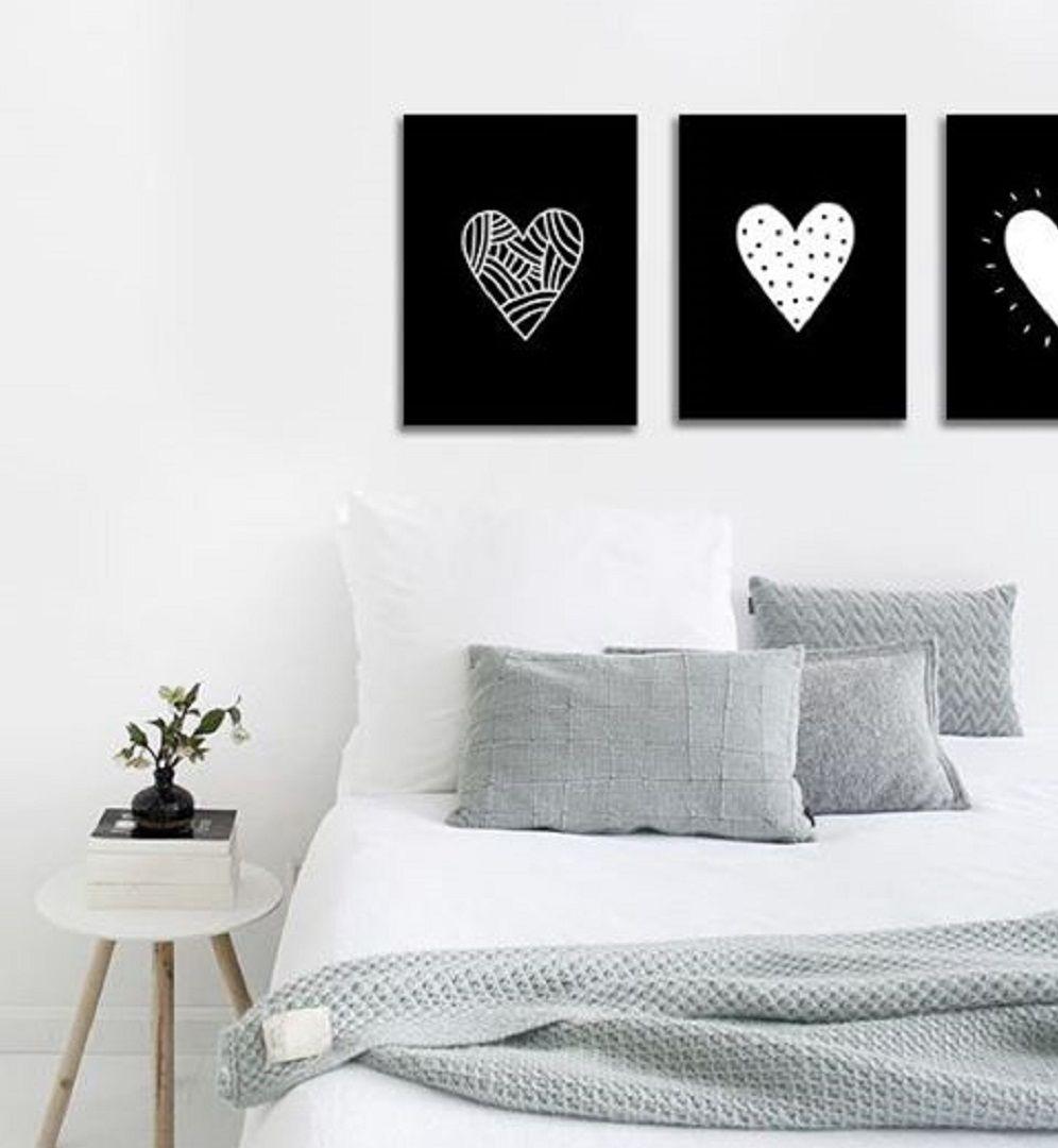 Tr ptico moderno para dormitorio triptico for Ejemplo de dormitorio deco