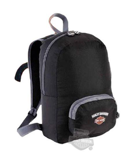 99510-SV/BK - Harley-Davidson® Transformers Black with Silver Backpack - Barnett Harley-Davidson®