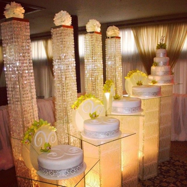 Nigerian wedding separate tier wedding cake by Repocreativa | Beauty ...