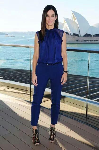 Toda De Azul Marino Blusa Azul Marino Combinar Pantalon Azul Marino Mujer Blusa Azul Marino