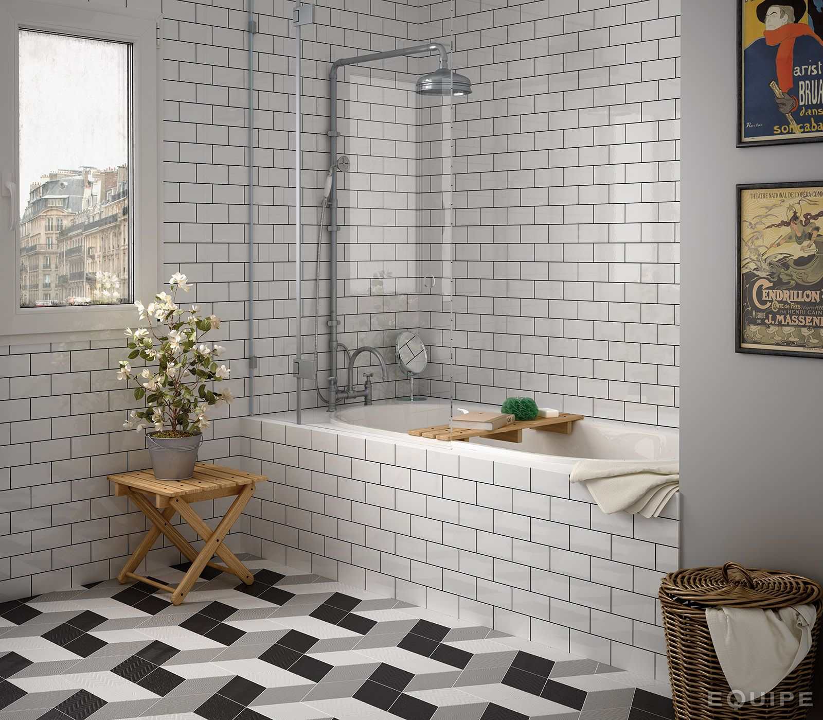 Metro Tile Design evolution blanco brillo 7,5x15 | inspiring ideas | pinterest