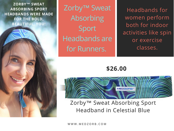 Looking for the ultimate #headband that stays in place?  Look no further! We have beautiful #running and exercise headbands that stay in place for #women.   #ExerciseHeadbands