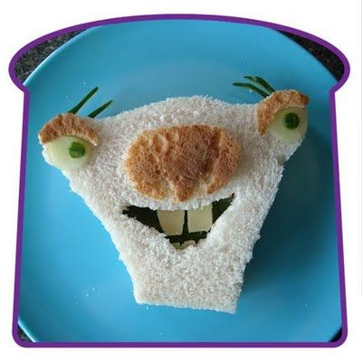 These are pretty cool, if not making me feel a little hungry. Check out characters from Ice Age, Finding Nemo, flowers, Ben10, crocodiles and more in this assorted collection of sandwich art.
