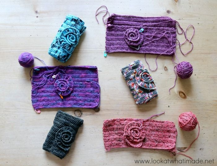 Ammonite Crochet Hook Roll Pattern Look At What I Made Proyectos