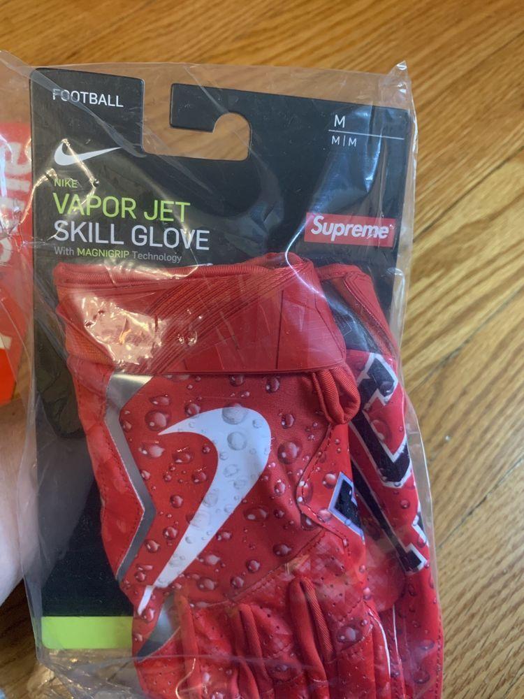 Details about supreme nike vapor jet 40 football gloves