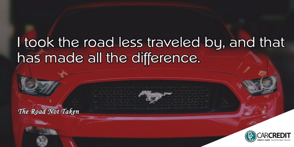 An inspirational quote (related in a way to cars of course