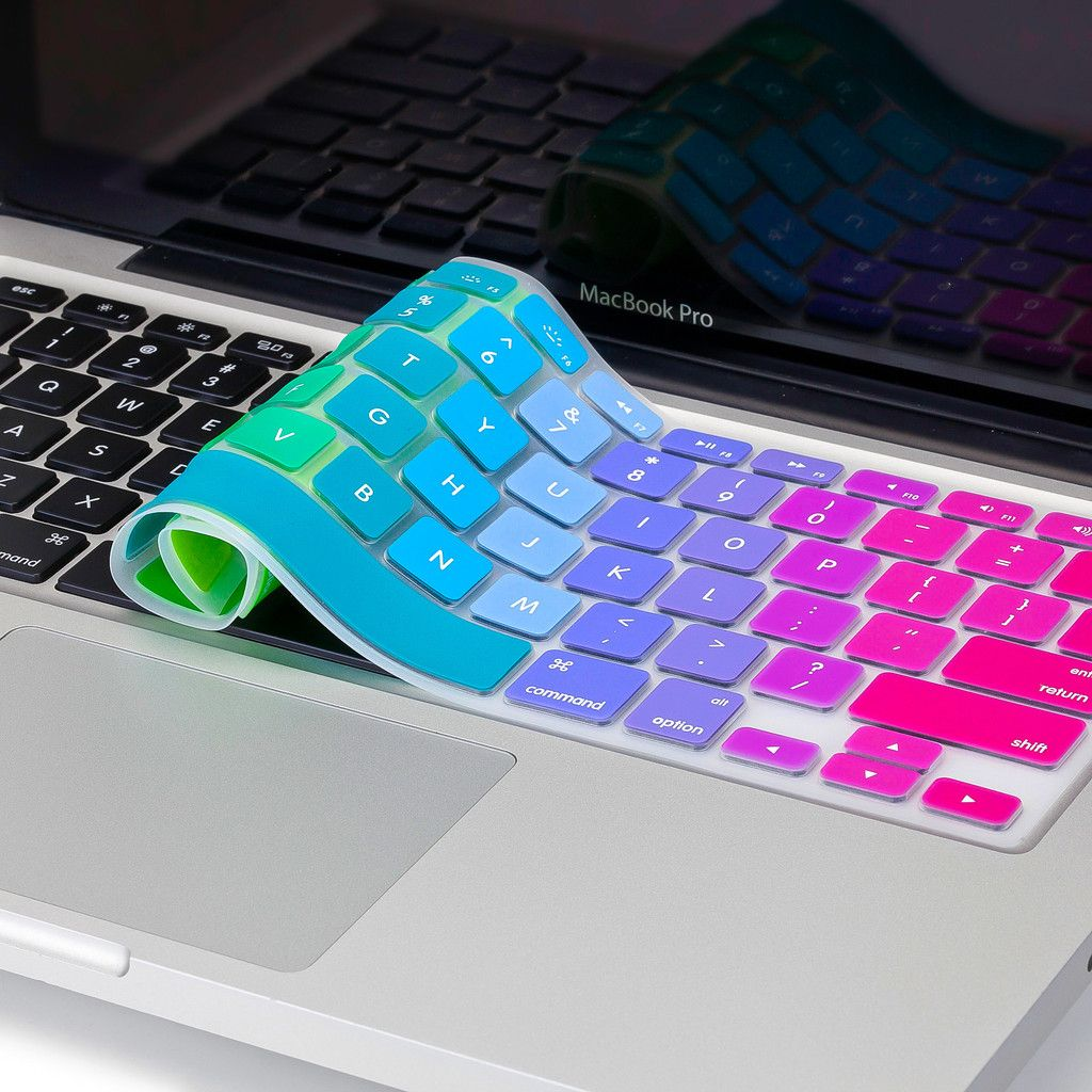 Newest Rainbow Keyboard Cover For Macbook Pro 13 Quot 15 Quot And