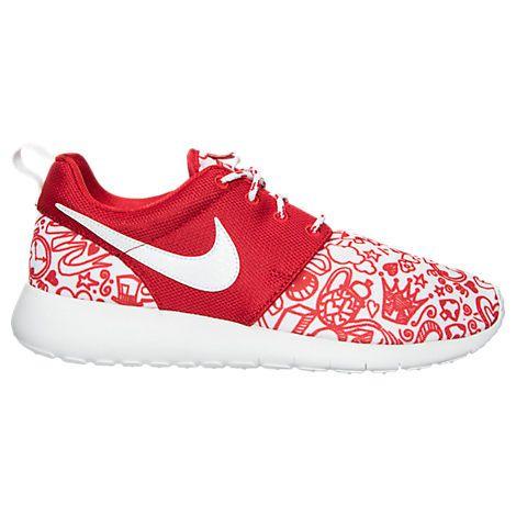bd1ac03820 Girls' Grade School Nike Roshe One Print Casual Shoes| Finish Line ...