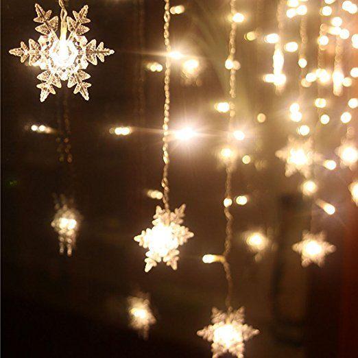 Immagini Luci Natalizie.Xguo 3 5m 96 Led Luci Natalizie Catene Luminose Led Spina Di Eu Luci Decorative Per Festa Giardi Luci Fatate Decorazioni Natalizie Per Interni Luci Decorative