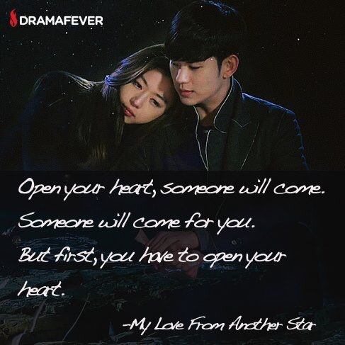 My Love From Another Star Drama Quotes Korean Drama Quotes My Love From Another Star