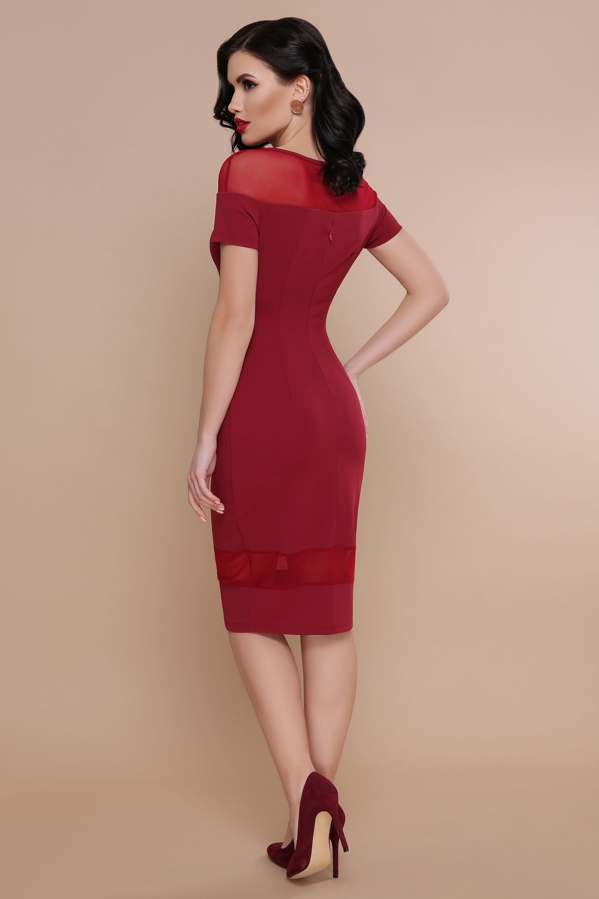 ea5f2c65680 Персиковое платье на вечер Владана 2 к р - купить в Украине