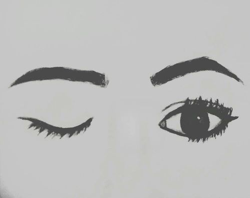 Image result for teenage drawings tumblr xx pinterest for Tumblr drawings of eyes