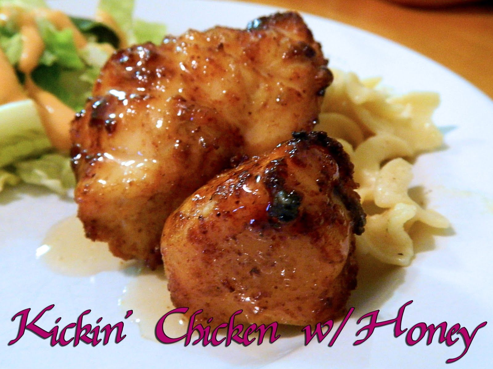 Eating bariatric kickin chicken with honey weight loss surgery this recipe was inspired by my who loves dipping chicken in honey so as i was digging around the cupboard for the chi forumfinder Choice Image