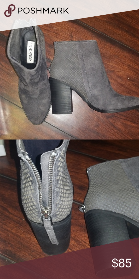 3227169004a Steve Madden Boots Nwt. Style Replay. Leather. Steve Madden Shoes Ankle  Boots   Booties