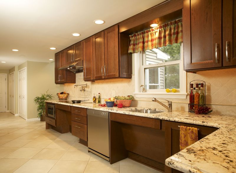 2 universal design kitchen | Home Modifications with ...