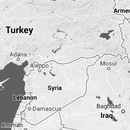 Syrian Civil War Not Just About Syria Syria Middle East And - Syria interactive map
