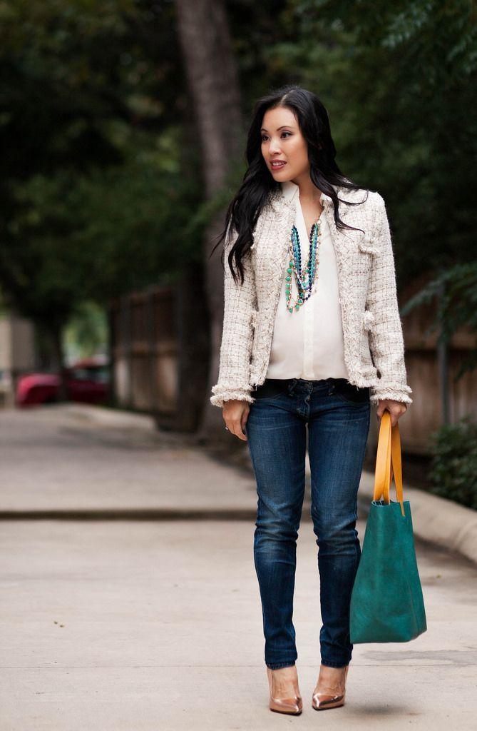 cute & little blog | petite fashion | sheinside chanel-inspired ...