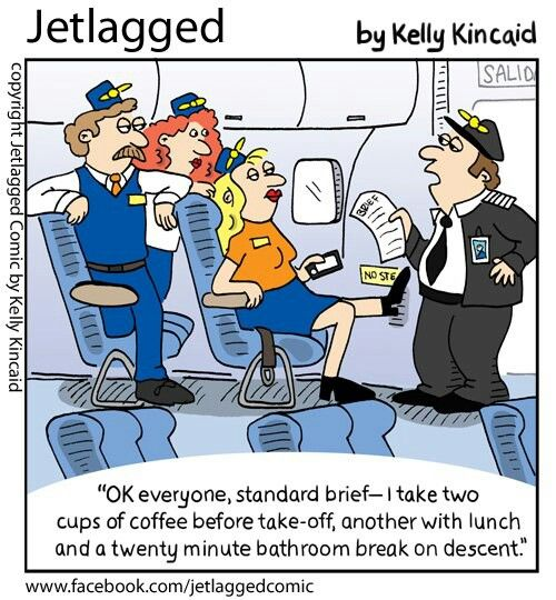 Pretty much how it goes, haha....Jetlagged comic by Kelly Kincaid