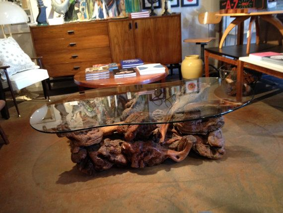 JULY SALE Tree Root Coffee Table By Bcdrygoods On Etsy, $925.00