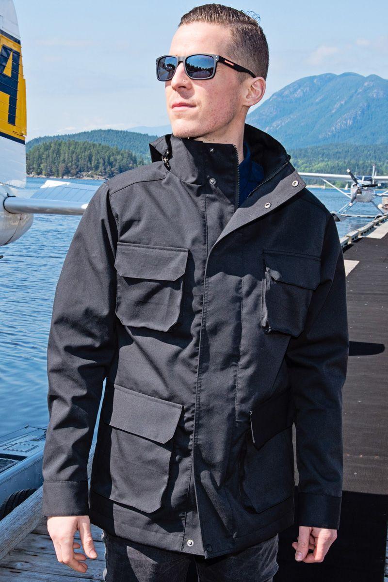 M65 field jacket is a manly man classic. Add modern tech fabric ...