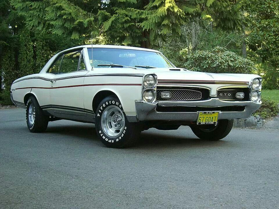 1967 Gto With Custom Paint Vintage Muscle Cars Pontiac Cars Pontiac Gto