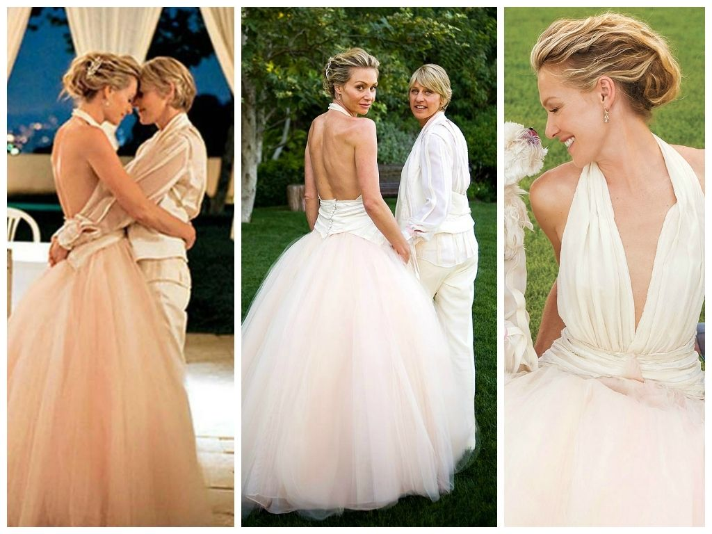 Ellen Degeneres And Portia De Rossi Wedding Dress