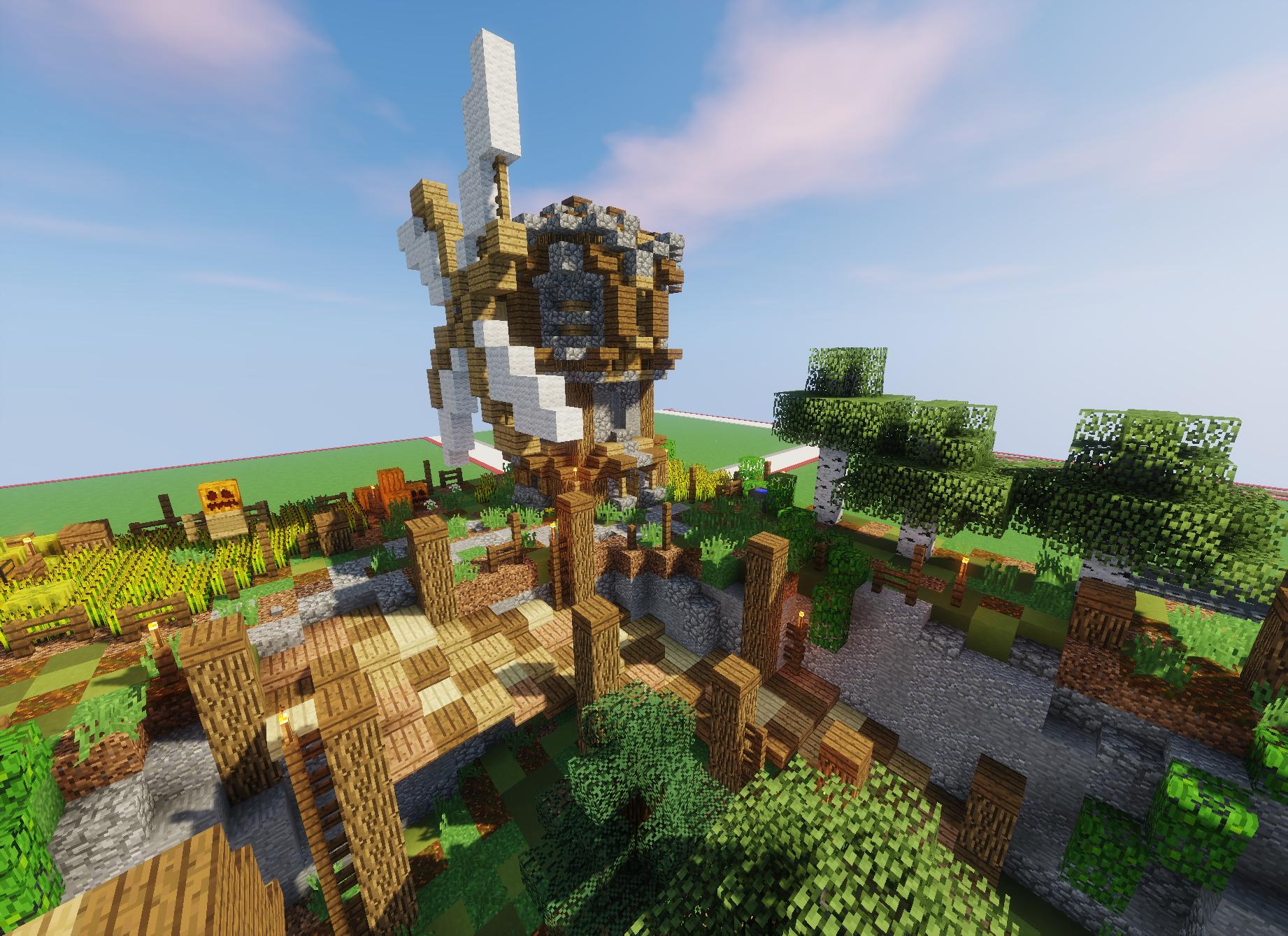 Trollandia Plot By Lollyherz Minecraft Building Windmill Fantasy