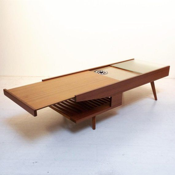 Mid-Century Modern Coffee Table By John Keal For Brown