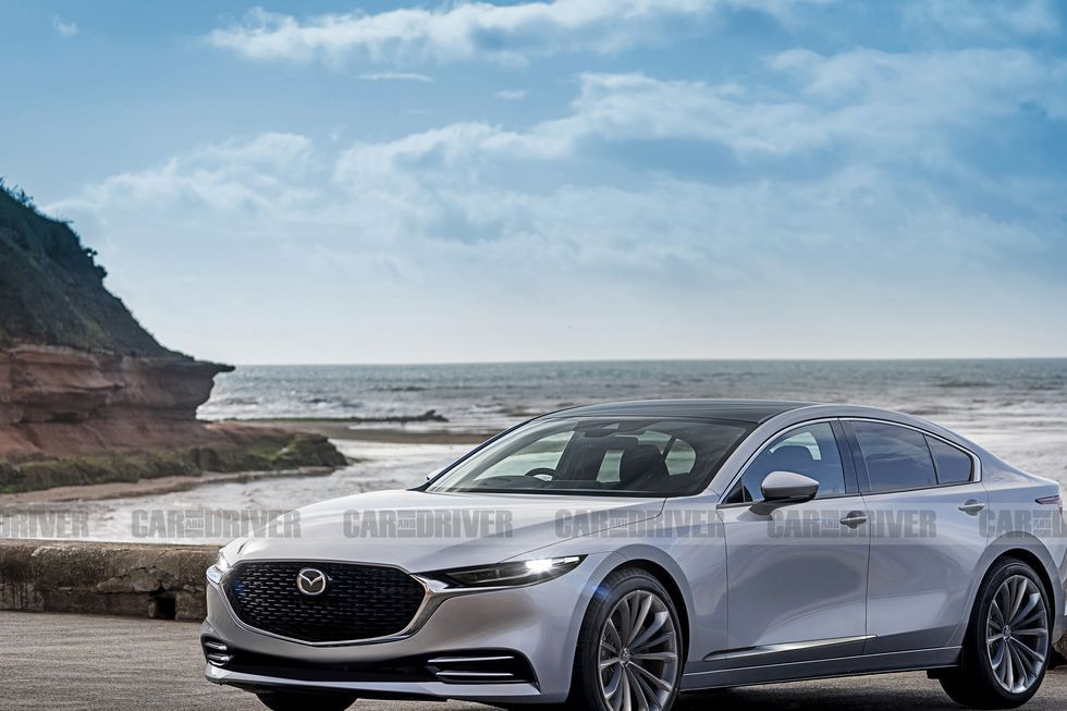Next Gen Mazda 6 Switching To Rwd Layout Inline Six Power Mazda 6 Mazda Tokyo Auto Show