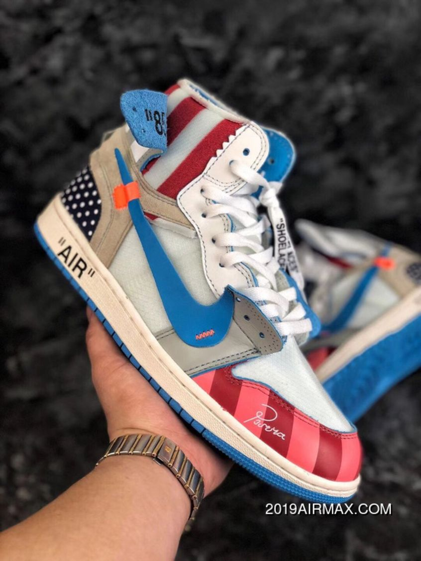 42e0317b8013 Piet Parra X Off White NRG X Nike Air Jordan 1 Originals Sports Sneakers  Multi-Colors Top Deals