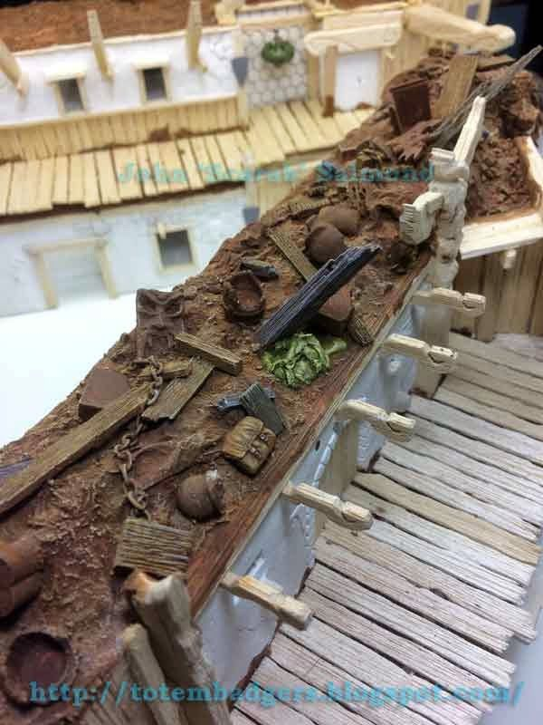 Row Houses, Tabletop Terrain, Terrain Tutorial, DYI, John