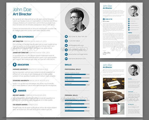 Superb Cool Resume Layout  Creative Resume Templates Free