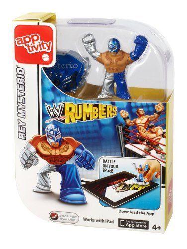 WWE Rumblers Apptivity John Cena Figure