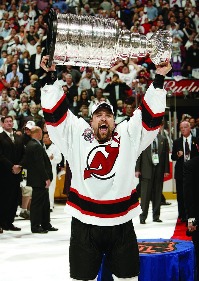 brand new c97cb dbdc9 Scott Stevens   New Jersey Devils; Three Stanley Cups (1994 ...