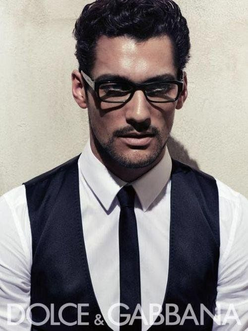 [ David Gandy - Dolce & Gabbana (Tie) ]
