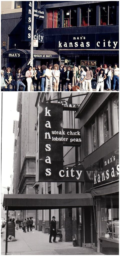 12-31 In 1982: Max's Kansas City Club In New York, Where