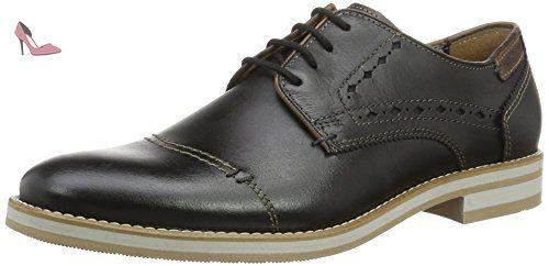 Fretz menAndrew - Zapatos Derby Hombre, Color Negro, Talla 40