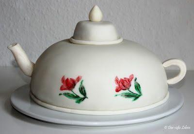 Das süße Leben: Teekanne (Torte) www.dassüsseleben.com