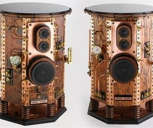 Their new Empire Steam Steampunk Speakers provide impressive quality sound, but there real appeal is found in the amazing design.